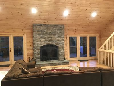 Photo for Perfect Spring Getaway with Amazing Fireplace for Gathering and Relaxation
