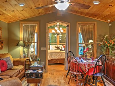 Photo for Romantic Tree House Cottage - Minutes to Mentone!