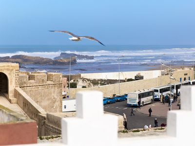 Photo for House in the médina and terrace with view on the ocean