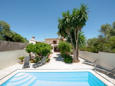 Photo for WOODHOUSE - Beautiful townhouse with private pool, porch with BBQ and wonderful terrace.