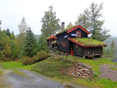 Photo for Norwegian log house in a quiet location for nature lovers