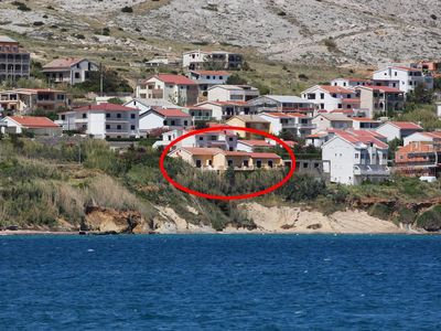 Photo for Apartment in Pag (Pag), capacity 2+0