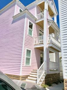 """Photo for Pool is OPEN NOW! """"PINK Palace"""" Walk to the Beach"""