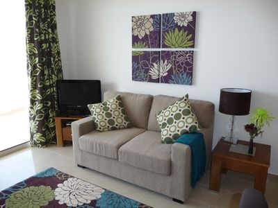 Photo for Luxury 1-bed holiday apartment in exclusive resort in Peyia,Paphos