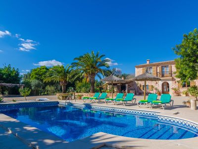 Photo for ES TURÓ - Villa with private pool in Es Llombards.