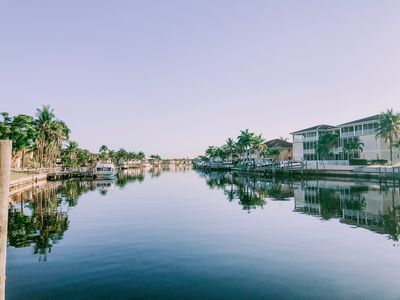 Photo for Cape Coral Waterfront Condo with Lanai & Pool Access