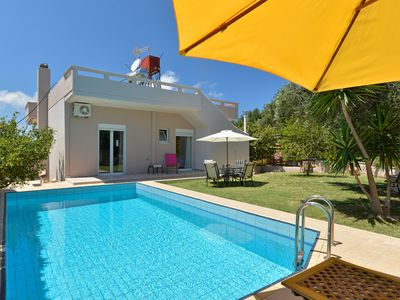 Photo for A 4 bedroom villa with private pool, 4km away from the beach