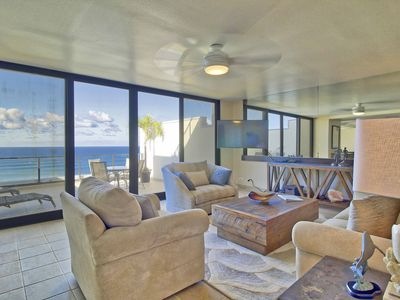 Photo for Oceanfront Princeville Condo w/Patio&Pacific Views
