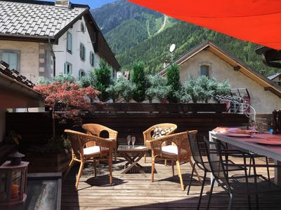Photo for ChamRêve-Lovely flat-Central Chamonix-, 250m from ski lift-parking