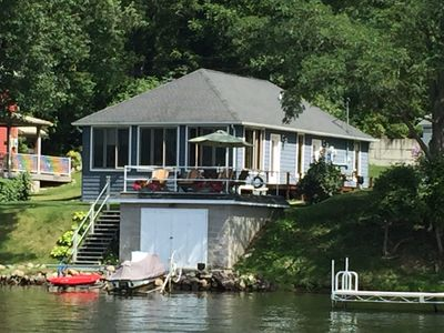 Photo for New Waneta Lake Rental Opportunity – Premier Location on the Lake