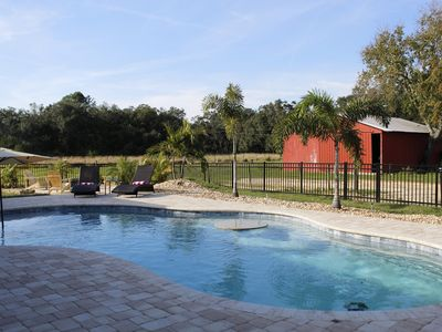 Photo for Heated Pool Home on 5 acres Near Disney, Legoland-Sleeps 11