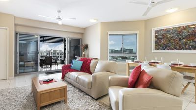 Photo for Darwin Executive Suites & FREE CAR - 2 Bedroom with VIEWS (Sleeps 5)