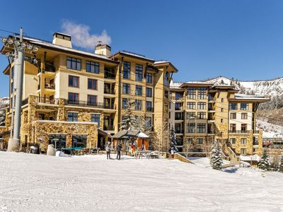 Photo for 'Eagle's Nest' Ski In/Out, 3BR/3BTH Two-Story Penthouse in Snowmass Base Village