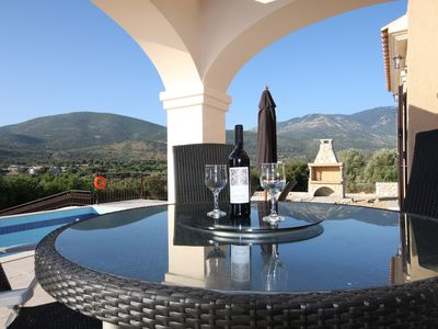 Photo for Luxury Villa Private Pool, Stunning Castle/Mountain Views, Close to Sea, Wi Fi