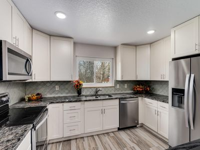 Photo for New Listing!! Gorgeous Remodel, Cabin Feel, Large Private Lot, Bcks 2 Open Space