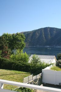 This view is looking down lake towards Chelan