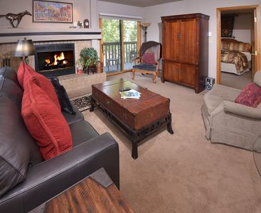 Photo for Ski-In and Out in Beaver Creek Village Condo w/ Balcony, Hot Tub, Free Shuttle