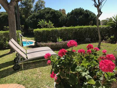 Photo for Relax and Chill out in a fabulous home from home with private garden & pool