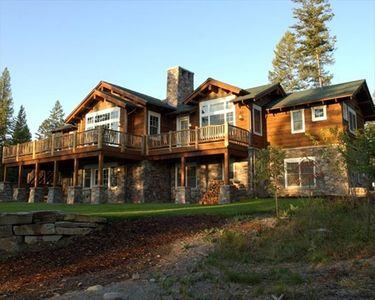 Photo for Custom luxury home. Private 20 acres with views of Glacier Park.
