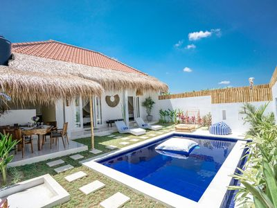 Photo for Brand new cozy villa with pool in Canggu