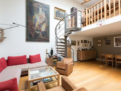 Photo for Light & spacious 6BR home with garden, in the 17th, near Moulin Rouge, by Veeve