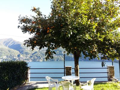 Photo for Cozy house with beautiful little garden and amazing lake view