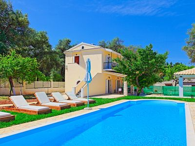 Photo for SunSole Villa: A charming air-conditioned villa with private pool close to Agios Spyridon beach