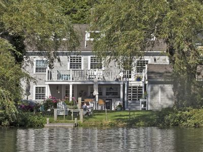 Photo for Gorgeous waterfront cottage in historic Sandwich Village!