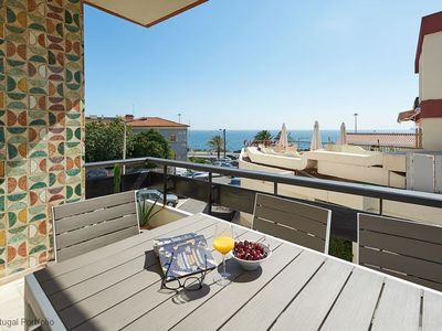 Photo for Modern & Spacious 3BR apart, sleeps 6 - Sea view & near Carcavelos