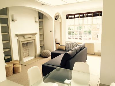 Photo for Bright elegant flat in the hearth of Chelsea 5 min from tube station WIFI