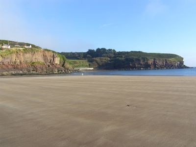 The beach at Dunmore East