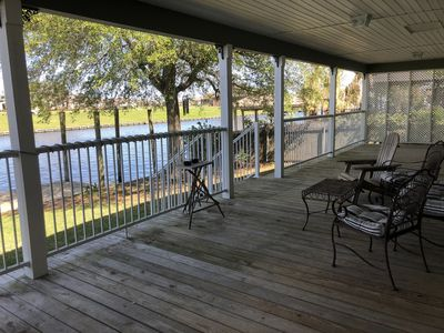 Photo for Chateau de Lis a Serene Waterfront Getaway 30 min from New Orleans