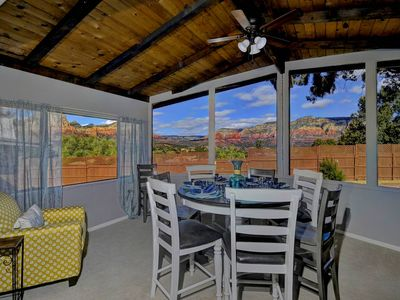 Photo for PANORAMIC RED ROCK VIEWS- SLEEPS 16! FIRE PIT!