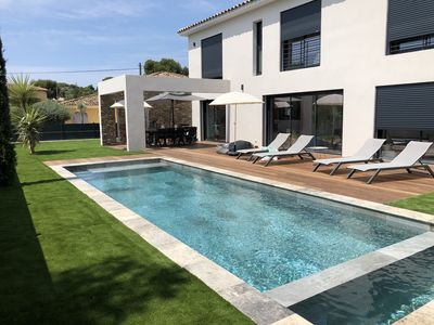 Photo for New villa of exception in residential area in Sanary sur Mer