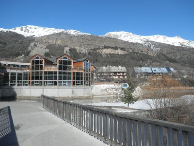 Photo for Apartment in a cottage in the center of the village of Serre Chevalier