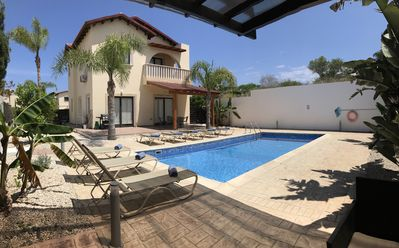 Photo for Spacious Villa in Protaras for 8 people with private pool & wifi