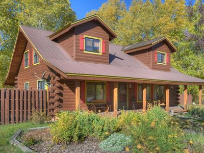 Photo for Large Log Home with pond riverfront near Mesa Verde National Park