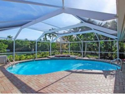 Photo for Spacious 3 Bedroom / 2 Bath ~  Stunning Canal View And Pool
