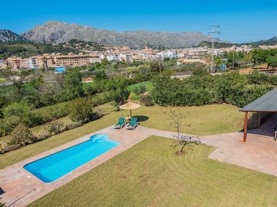 Photo for Villa with private pool walking distance to Pollensa old town