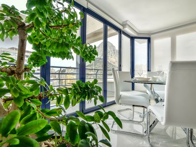 Photo for Stunning duplex penthouse, 200m from the sea and marina