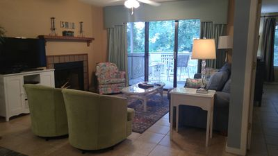 Photo for Kingston Plantation:  First Floor 2BR, 2BA 1-level  LakeView Condo