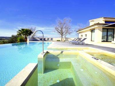 Photo for modern, luxury Villa with great views, garden, pool, 8 km from the beach