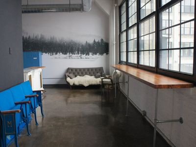 Photo for Industrial Loft Above Brewery & Restaurants | 20 Mins to Superbowl