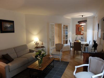 Photo for Charming apartment 650 Sq.ft between St Germain  in the 6ème (cleaning included)