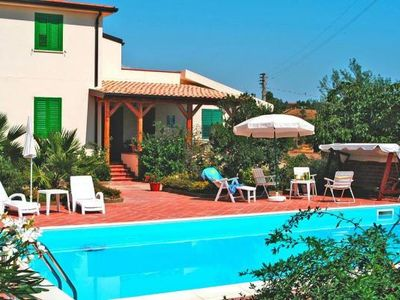 Photo for Villa, Pietraperzia  in Um Agrigent - 8 persons, 3 bedrooms