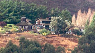 On 70 acres the ranch is a quiet place to enjoy nature