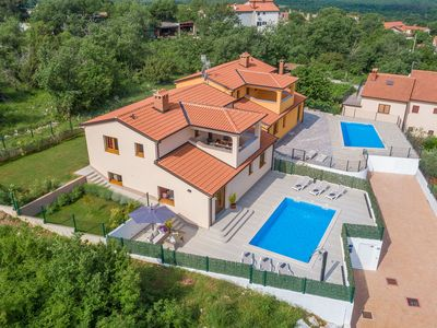 Photo for Modern furnished three bedrooms villa with private pool and garden