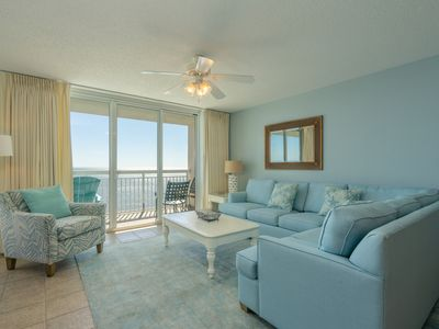 Photo for Crescent Shores North 1302 - STUNNING 3 Bedroom Oceanfront Condo in North Myrtle Beach!