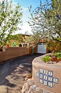 Photo for An authentic Santa Fe adobe perched above Santa Fe's downtown - walk to Plaza