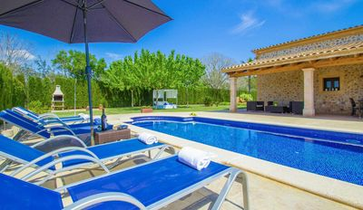 Photo for YourHouse Call Vermell rustic Majorcan chalet with swimming pool